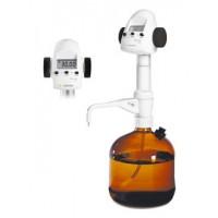 Механический дозатор BIOHIT 1-канальный фиксированного объема 50 мл Biotrate® (Цифровой титратор) адаптеры 33, 38, 45 мм
