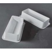 Ванночки для реактивов, без крышки, белые 16 шт.