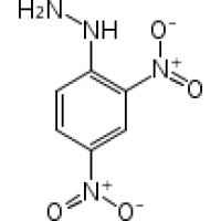 2,4-динитрофенилгидразин, moist р-р.id, содержит мин. 30% вода, Acros Organics, 100г