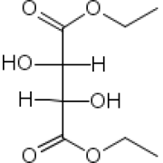 (-)-диэтил D-тартрат, 99%, maде из unнатуральный винная кислота, Acros Organics, 25мл