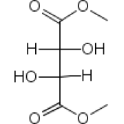 (+)-диметил L-тартрат, 99%, Acros Organics, 100г
