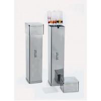Коробка для пипеток - нержавеющая сталь - 70x70x430 мл (1 шт. / уп.), Isolab