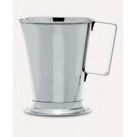 Мерный стакан - с ручкой - нержавеющая сталь - 1000 мл (1 шт. / уп.), Isolab