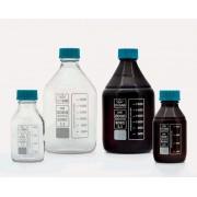 Бутыль - ISO - с винтовой крышкой - шейка средней длины - боросиликатное стекло - желтая - 10000мл (1 шт. / уп.), Isolab