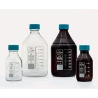Бутыль - ISO - с винтовой крышкой - шейка средней длины - боросиликатное стекло - прозрачная - 3000мл (1 шт. / уп.), Isolab