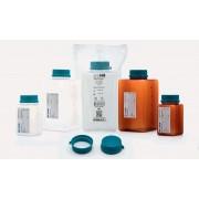 Бутыль - для отбора проб воды - полипропилен - без тиосульфата натрия -  желтая - стерильный R - 500 мл - single уп.ed (42 шт. / уп.), Isolab