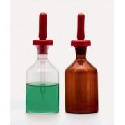 Капельный дозатор - с резиновой соской - желтая - 100 мл (1 шт. / уп.), Isolab