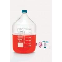 Бутыли - с запорным краном - 20 л - стекло (1 шт. / уп.), Isolab