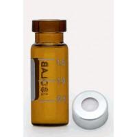 Алюминиевая крышка + перегородки - N11 - силиконовая / тефлон - без разреза (100 шт. / уп.), Isolab