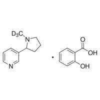 (±)-Nicotine-d<SUB>3</SUB> salicylate salt 98 atom % D Sigma N5768