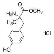 &#945;-Methyl-<SC>DL</SC>-tyrosine methyl ester hydrochloride &#8805;98&#37; (HPLC) Sigma M3281